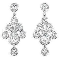 clip on dangle earrings vintage signed monet leaf pattern clip on dangle earrings white