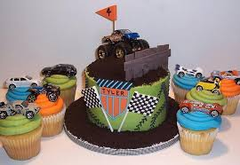 monster truck cake ideas with cupcakes 54340 monster truck
