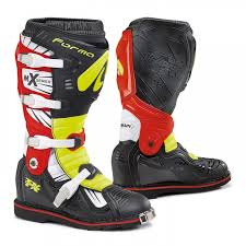 motocross bike boots mx motocross bike boots forma boots terrain tx yellow red