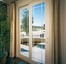 Single Patio Doors With Built In Blinds Tuscany Series Vinyl Patio Doors Milgard Windows U0026 Doors