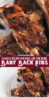 baby back ribs kleinworth u0026 co
