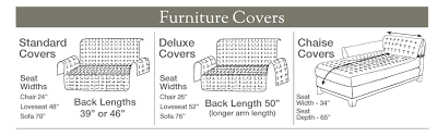 Furniture Protectors For Sofas by Deluxe Furniture Protector For Armless Loveseat