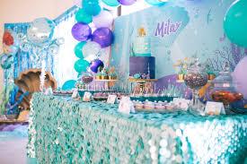 mermaid birthday party kara s party ideas shimmering mermaid birthday party kara s