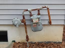 gas meter internachi inspection forum