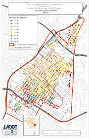 Los Angeles Public Transportation Map by Downtown La Express Park Rate Changes April 4 2016 La Express Park
