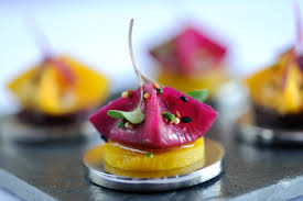 easy vegetarian canapes beetroot samosa recipe great chefs