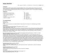View Sample Resume by Office Manager And Bookkeeper Resume Sample Quintessential