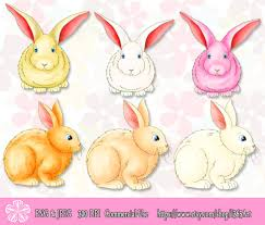 easter easter bunny colorful easter bunny rabbit clipart graphics for sale at the
