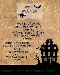 Poem For Halloween Primitive Halloween Haunted House Poem Feedsack Logo Primitive