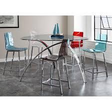 cefalu modern blue counter stool eurway furniture
