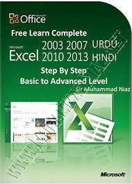 free learn microsoft excel in urdu and hindi