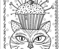 cute cupcake coloring pages unicorn and pearls fantasy coloring page coloring