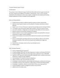 Maintenance Job Description Resume Information Technology Responsibilities Resignation Letter Family