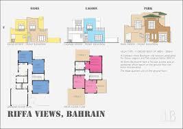 Three Bedroom Ground Floor Plan Riffa Views Portfolio