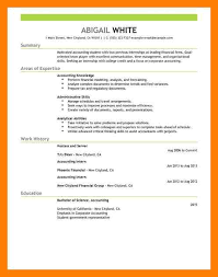 Finance Resume Examples 7 Finance Intern Resume Mla Cover Page