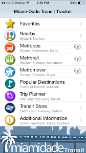 Miami Dade Transit Map by Mdt Tracker App U2013 Cavsconnect