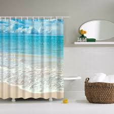 beach bathroom design simple beach bathroom shower curtains 70 for adding house inside
