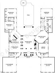 house plans courtyard floor plan u shaped house plans with courtyard pool in brilliant