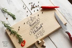 cutting board wedding gift personalized wedding gift cutting board