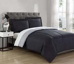 Charcoal Grey Comforter Set Comforter Sets Bedding Sets Kmart