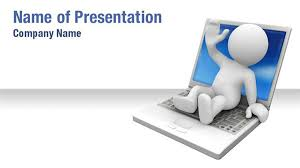 3d template powerpoint 3d on laptop powerpoint templates 3d