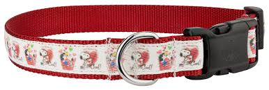 snoopy ribbon buy deluxe snoopy s cool ribbon dog collar online