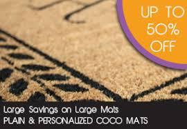 Outdoor Coir Doormats Doormats Welcome Mats Custom Logo Personalized Coco Mats N U0027 More