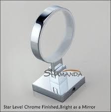 brass chrome finishing square single cup holder toothbrush holder