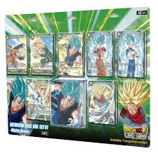 dragonball super tcg mighty heroes deck box set zing pop culture
