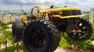 monster jam rc trucks monster jam rc truck rc car extreme test drive youtube