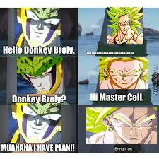 Broly Meme - master cell talks with donkey broly by dusanivanovicmemecenter