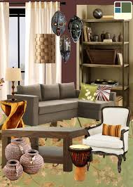 African Themed Home Decor by Best African Inspired Living Room Home Decor Color Trends