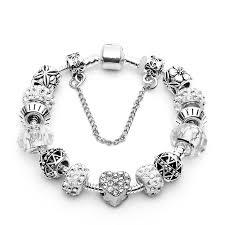 love heart bracelet images Silver plated love heart charm bracelet australia 39 s emerging jpg