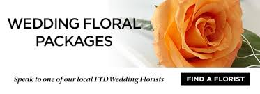 wedding flower packages and wedding floral packages from ftd
