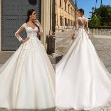 different wedding dress shapes discount vestidos 2017 sleeves lace wedding dresses