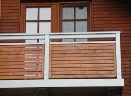 balkone holz balkongeländer alu holz balkone balkon