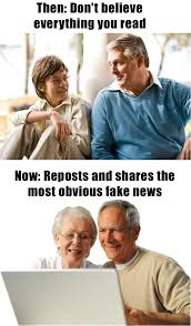 Baby Boomer Meme - some people on facebook beheading boredom