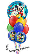 singing balloon delivery singing balloons birthday balloon bouquets delivery by