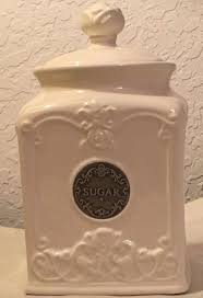 thl shabby chic sugar canister with rose lid what u0027s it worth