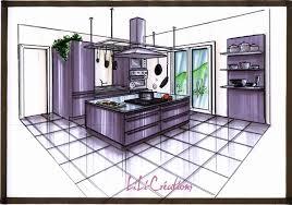 plan de cuisine avec ilot central plan de cuisine avec ilot central ilot plan de travail ilot plan
