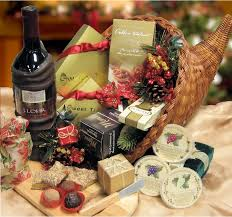 christmas wine gift baskets christmas gift basket ferns n petals official