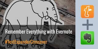 Evernote Meeting Notes Template by Textexpander Crossover Remember Everything With Evernote