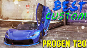 best color progen t20 ever color paint jobs gta5 online dlc