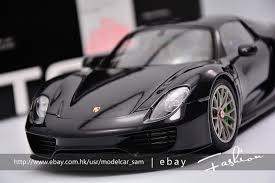 price of a porsche 918 spyder autoart 1 18 porsche 918 spyder weissach package black ebay