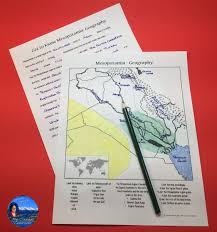 get to know mesopotamia geography desert climate map