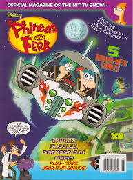 phineas and ferb image phineas and ferb magazine 1 1 2 jpg phineas and ferb