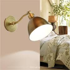 Copper Wall Sconce Hallway Bronze Vintage Wall Sconce For Dressing Room Led Cabinet