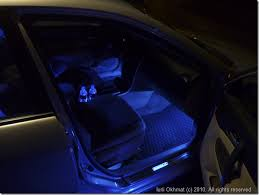 fluid s mazda 6 footwell and cupholder lights and door