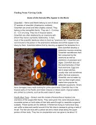 finding nemo questions