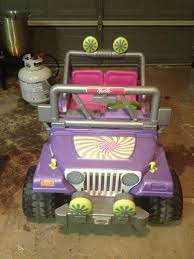 barbie jammin jeep first mods daughters barbie jammin jeep modifiedpowerwheels com